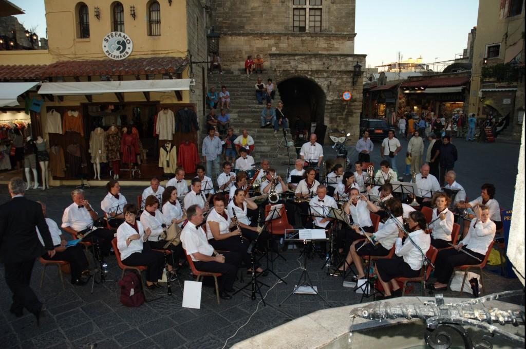 Concert PJB Rhodos stad